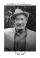 The life of Clarence Desadier, fifth chief of the Butte Tribe of Bayou Bourbeaux
