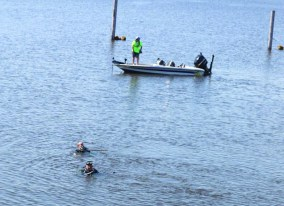 Dive teams assist in drowning recovery