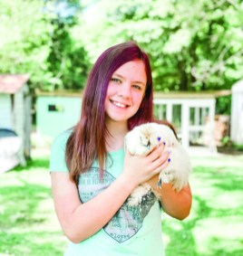 chickens-Peyton with Elenor