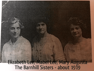 The Barnhill Sisters