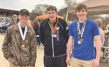 Three youth share love for bowhunting and competition