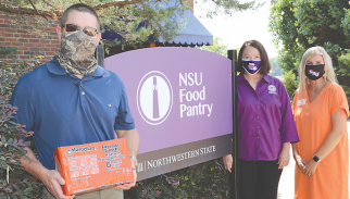NSU Food Pantry Donation