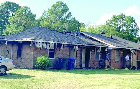 Occupant injured in home fire