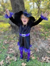This cute little witch is Madalynn Barnhart.