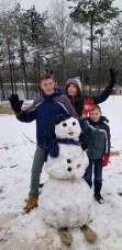 Danny Durr's grandson, Danny also submitted some beautiful photos from the snow.