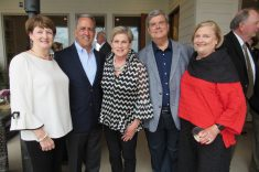 From left are Gayle and Louie Bernard, Evie Posey, Mary Ellen and Ken Freeman.