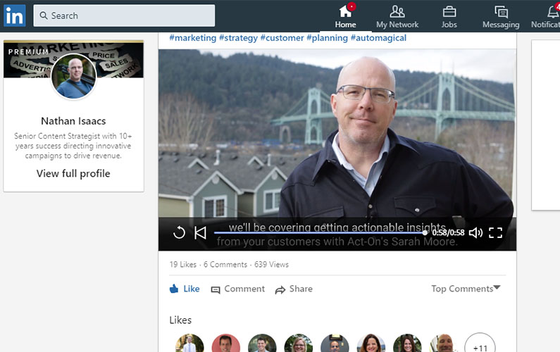 The Marketer's Ultimate Guide to LinkedIn Native Video