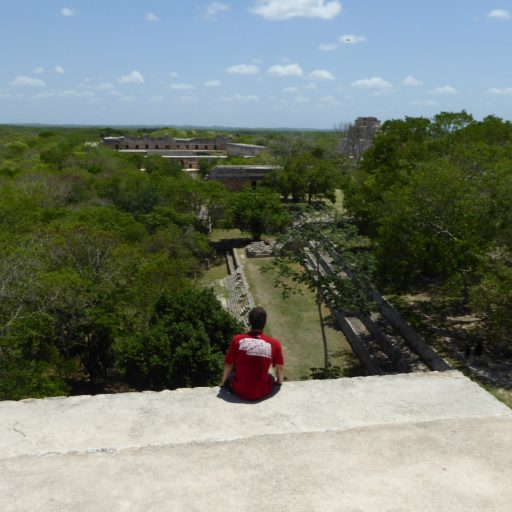 views of uxmal