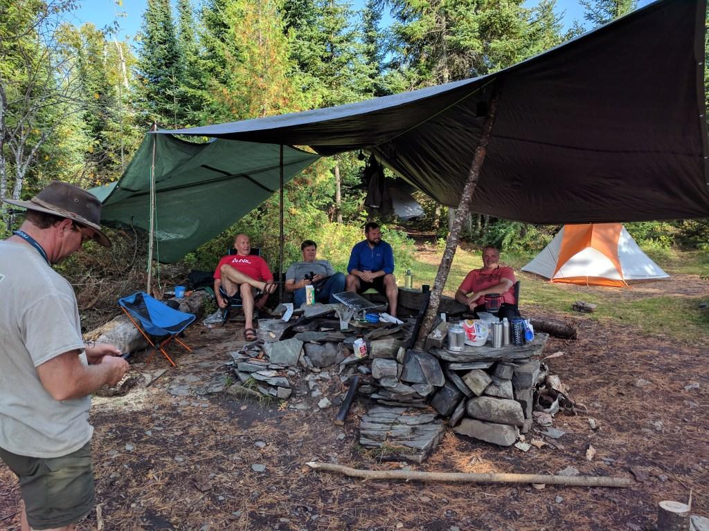 BWCA Campsite #1225