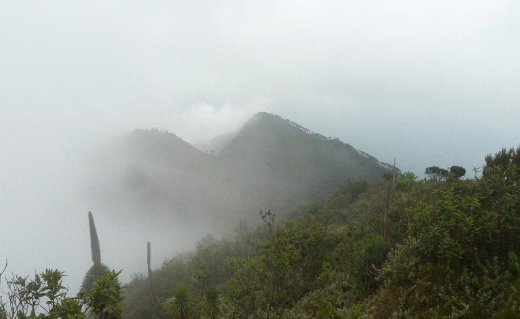 mount gahinga mountain climbing