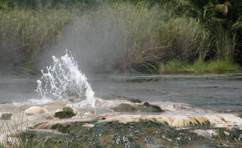 Sempaya Hot Springs in Semuliki National park