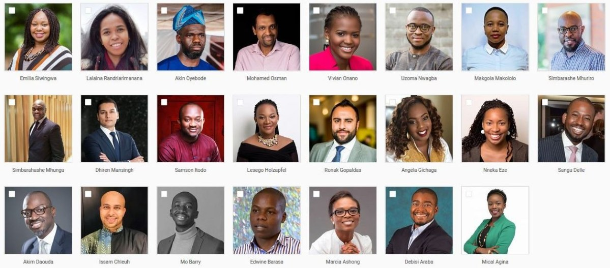Four Kenyans Among 23 Africans Selected to join 2019 Tutu Fellows