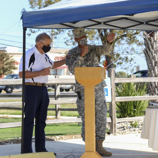 Kyle Residents Honor Veterans With Ceremony, Parade
