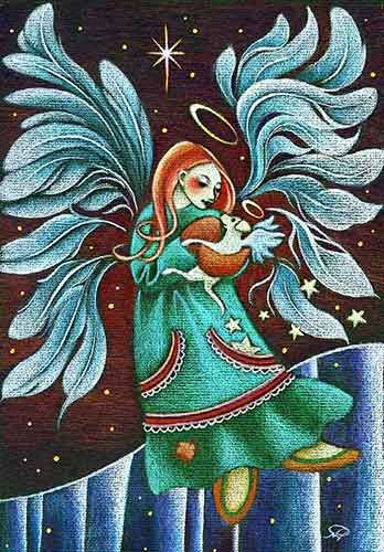 Christmas Cards By Yukon Artist Nathalie Parenteau The