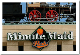 Of course it should be obvious that I love Minute Maid. Delicious.
