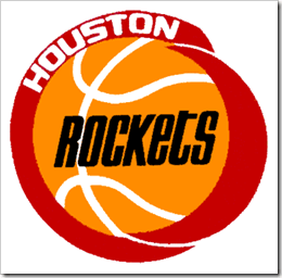 I've always been partial to the old Rockets logo. The newer ones are too cheesy, whereas this one was just clean, simple, and nice.