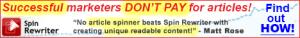 Spin Rewriter Affiliate Banner