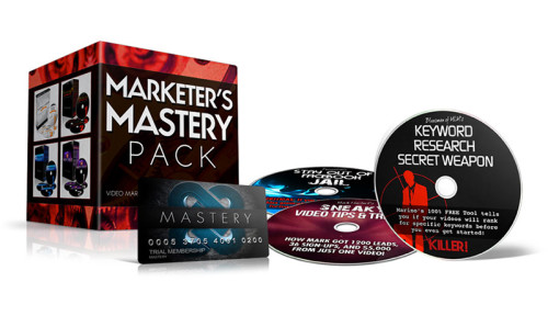 Marketers Mastery Pack