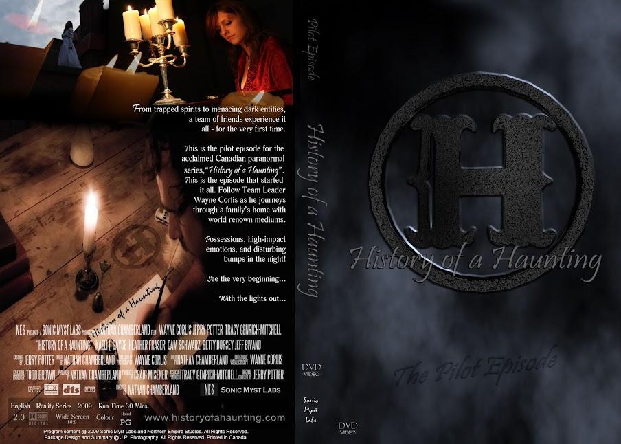 history haunting DVD jacket