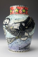 Vase: Liberty and Justice For All