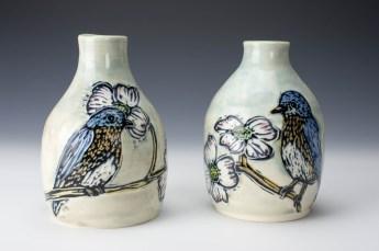 Bottles: Bluebirds