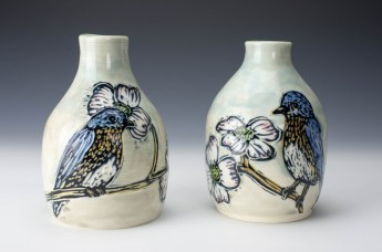 Bottles: Bluebirds