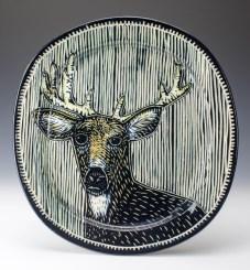 Plate: Buck