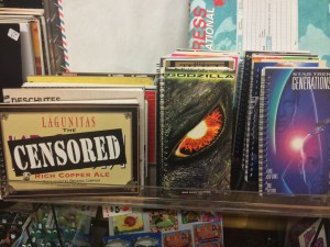 Check out these notebooks! They are made from old beer cases or VHS cases.