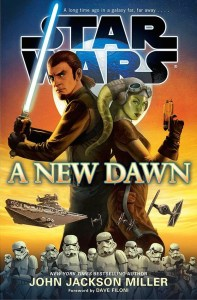 Cover of A New Dawn, due out on September 2nd, 2014.