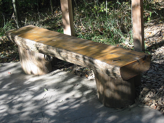 Log Bench On Pinterest Log Benches Logs And Benches