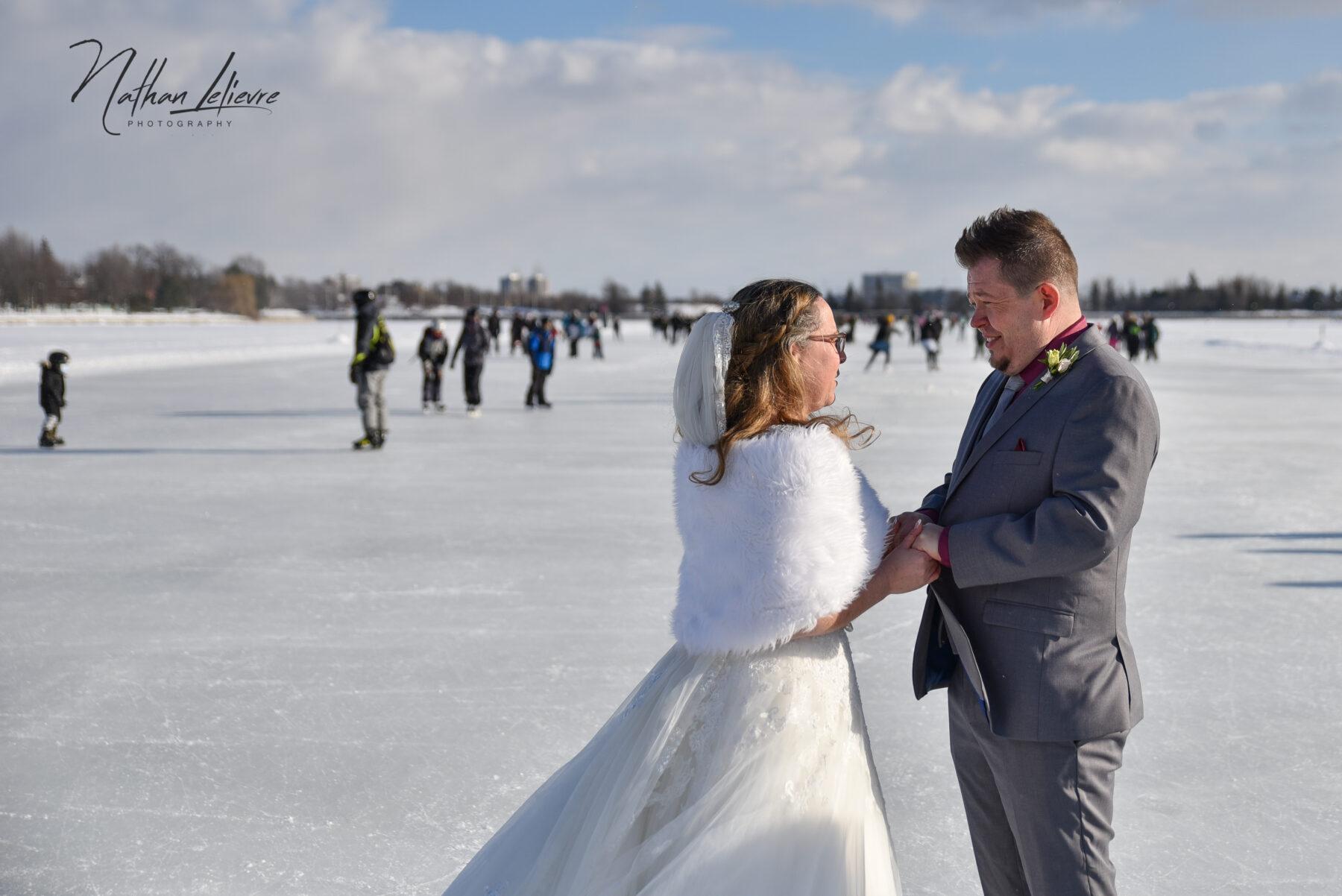wedding outdoor ottawa winter