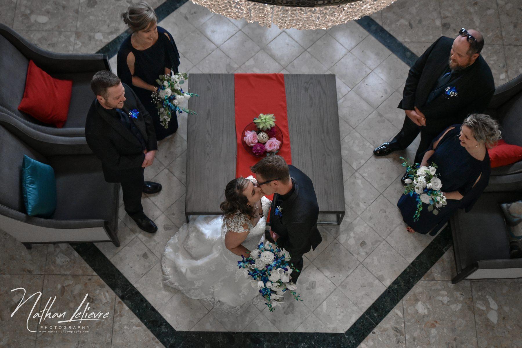 Double tree Aylmer Wedding Photo