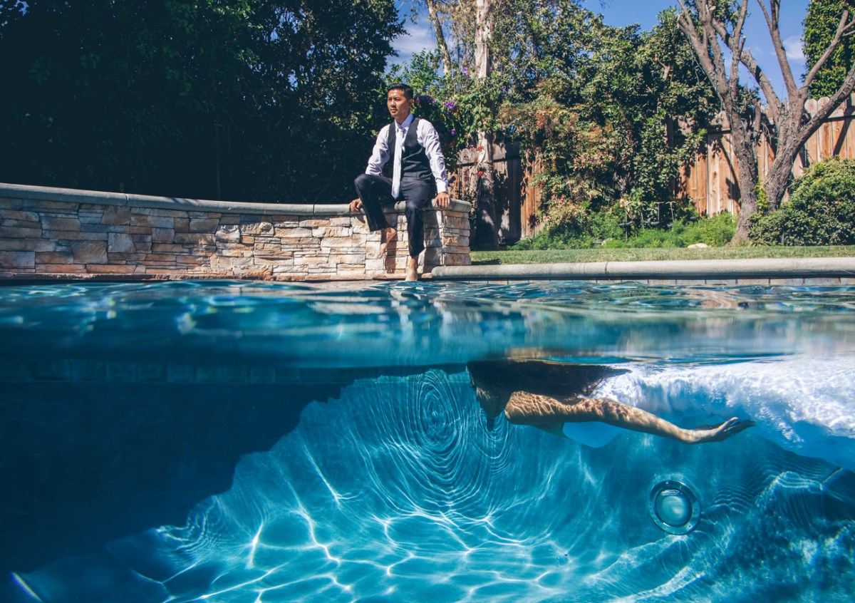 Trash The Dress - Underwater Swimming Pool Photo Session -7978