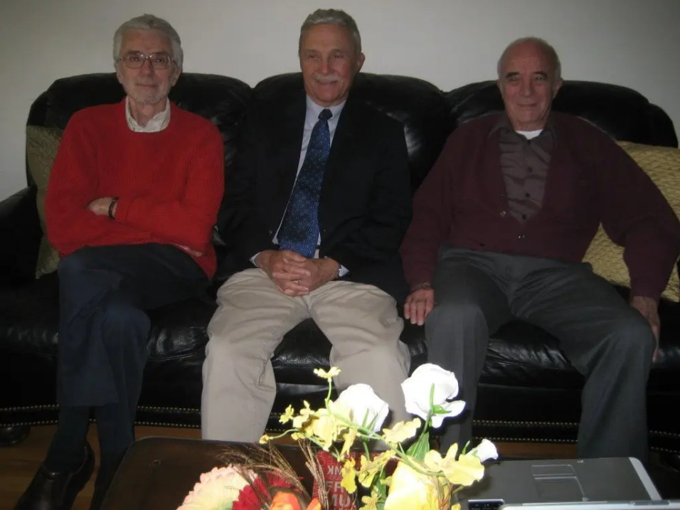 Dale Gibson, David Gibson and Jerry Gibson