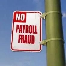 no payroll fraud