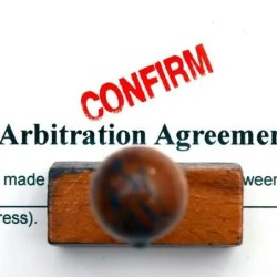 confirm arbitration agreement