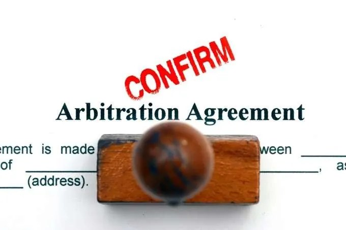 confirm arbitration agreement