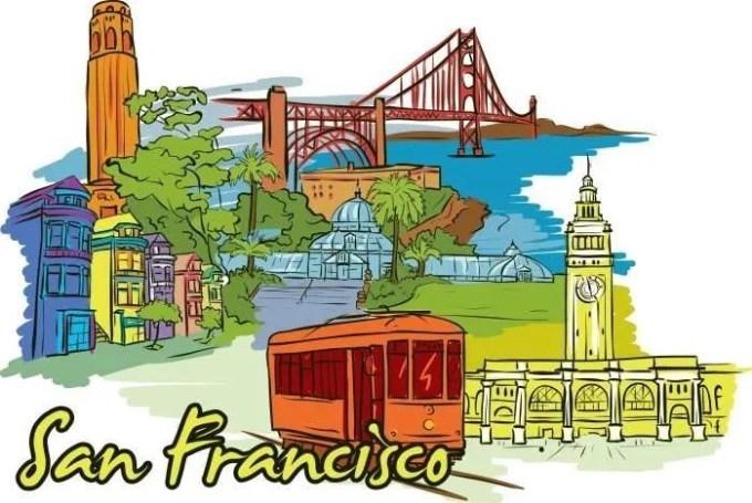 San Francisco doodle