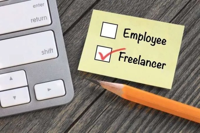 employee freelancer check boxes