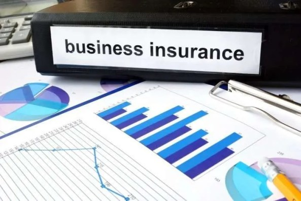 business insurance and chart