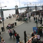 The waterfront of Oslo, Norway—a place overflowing with uses and users.