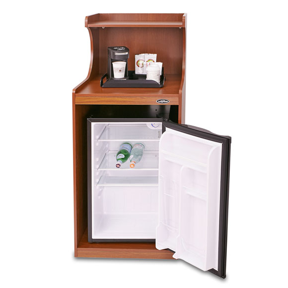 hotel room microwave refrigerator