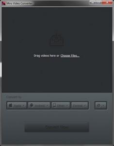 Miro Video Converter screenshot