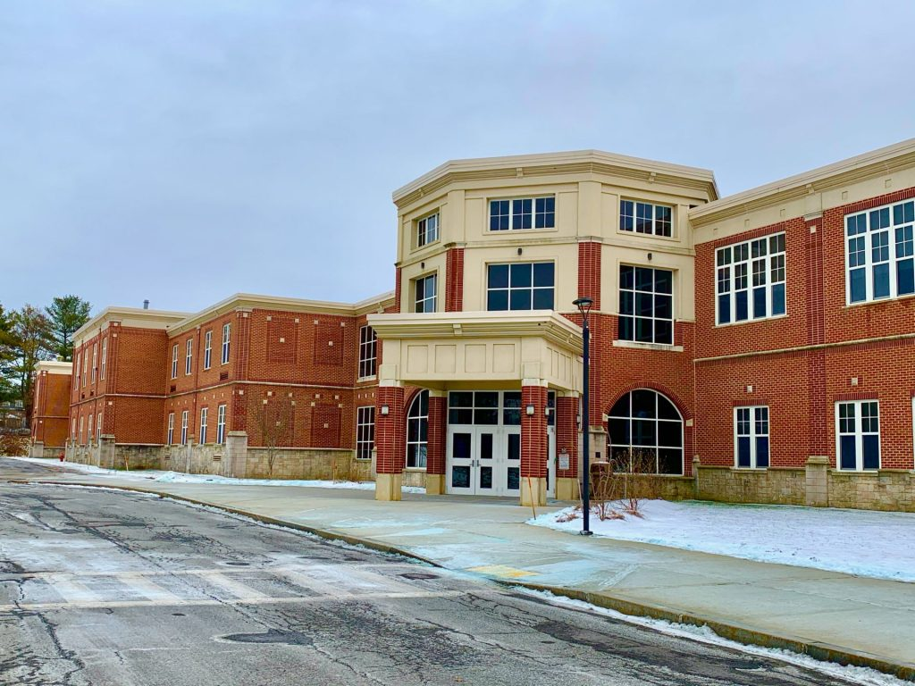 Wilson Middle School, winter