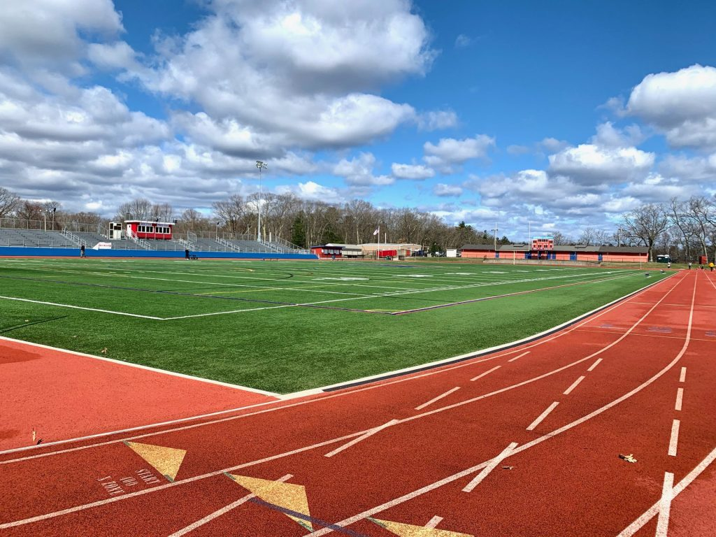 Natick High School Memorial Football Field and Track