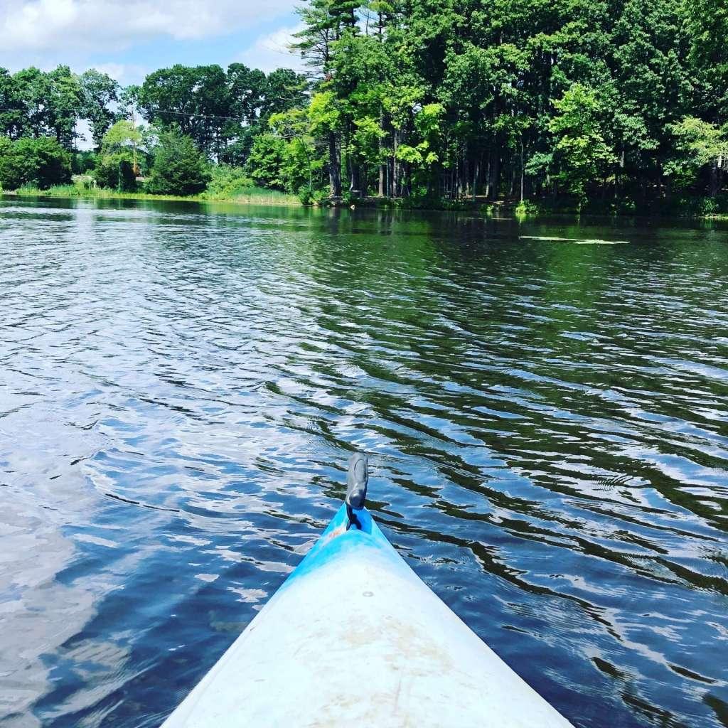 Fisk Pond natick kayak