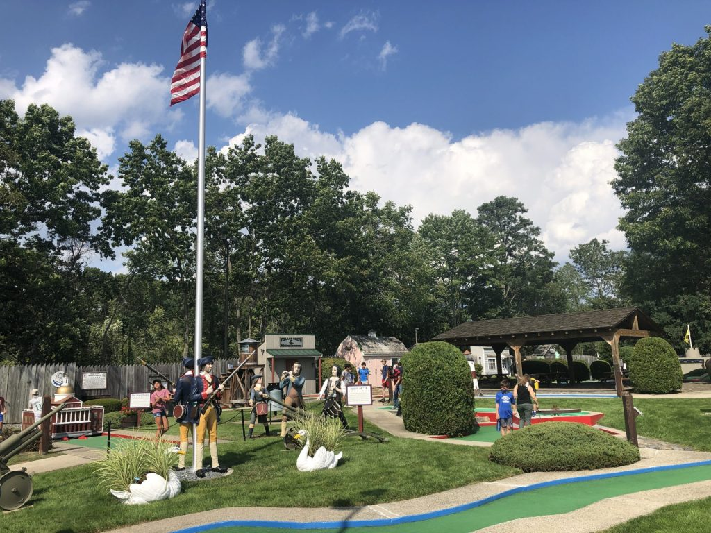Golf on the Village Green