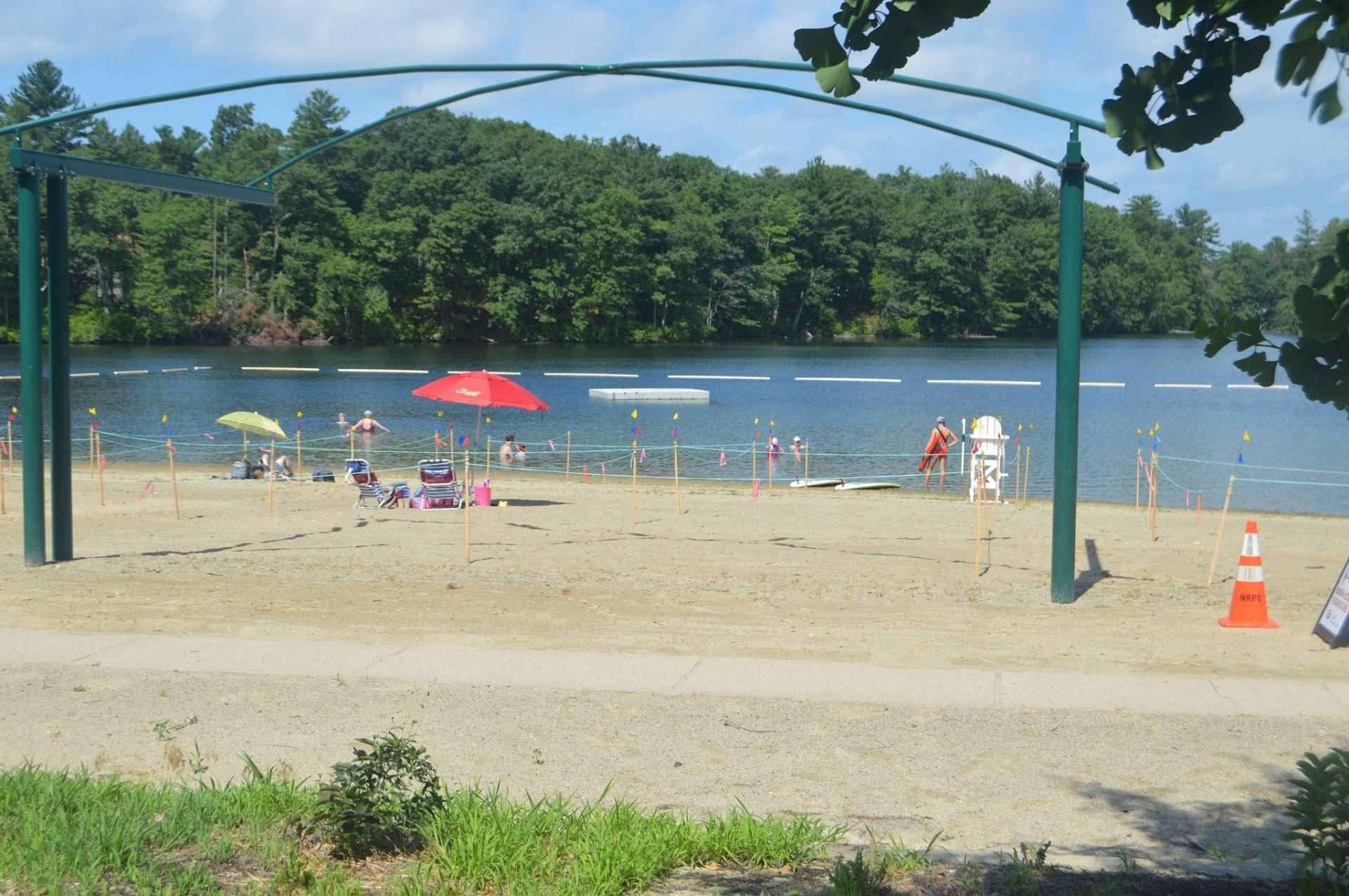 memorial beach dug pond