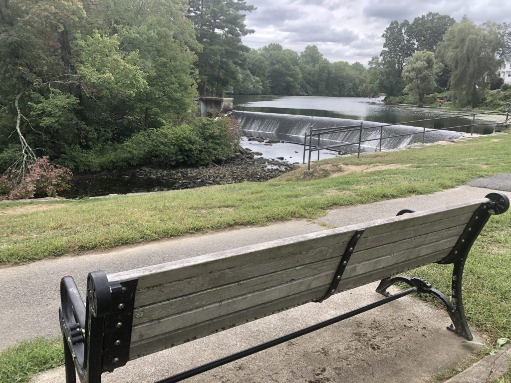 south natick dam bench