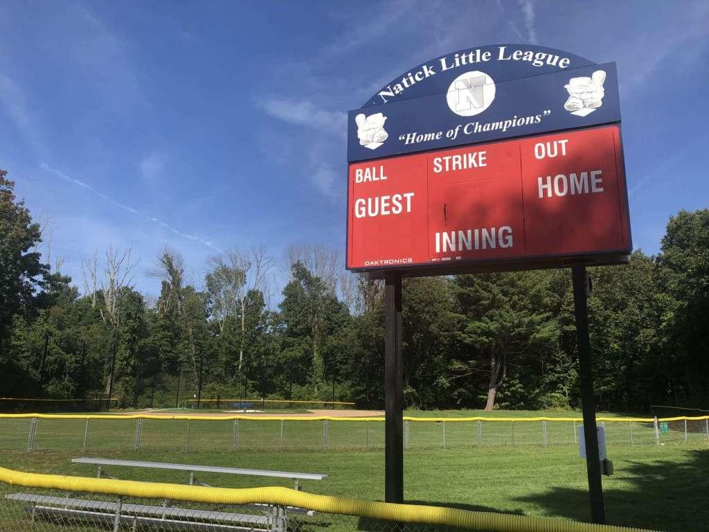 Hunnewell Fields baseball